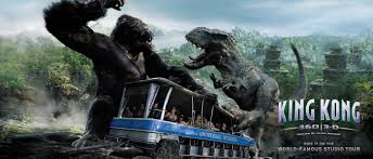 Universal Studios Hollywood Map King Kong 360 3 D Rides U0026 Attractions Universal Studios Hollywood