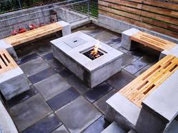 built in firepit outdoor ideas u2014 home fireplaces firepits