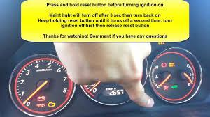 check engine light stays on how to reset maint light honda civic acura el youtube