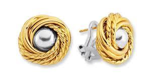gold earrings for women 14 designs of gold earrings for women mostbeautifulthings
