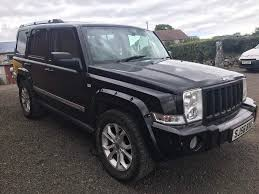 2007 jeep commander 3 0crd limited auto 7 seater trade in