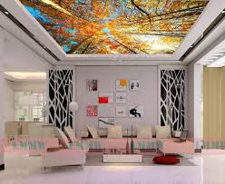 Wallpaper Ideas For Sitting Room - 27 ceiling wallpaper design and ideas inspirationseek com