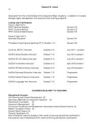 Online Instructor Resume by Howard Loken U0027s Adjunct Assistant Professor Resume 2016