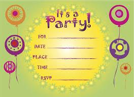 free birthday invitations birthday party invitations