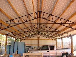Truss Spacing Pole Barn Need Metal 30 X 60 X 16 Rv Or Motorhome Cover Tall Pole Barn