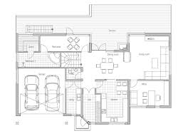 modern houses floor plans modern house ch81 with floor plans and details house plan