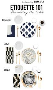 how to properly set the table with a spoon always with a spoon