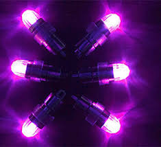 cheap mini led balloon lights glow purple light up balloons diy