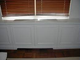 built in storage cabinets bultra inc painted built in radiator covers and storage cabinets