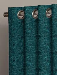 Teal Curtains Buy Crushed Velvet Dark Teal Fabric By The Metre Next Made To