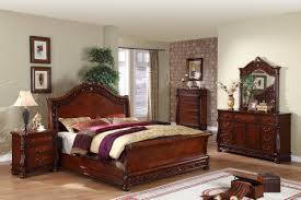 Bedroom Sets Real Wood Contemporary Oak Bedroom Furniture Solid Sets Cheap Wood Rustic