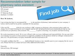 awesome collection of example of reference letter for pharmacist