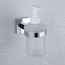Liquid Soap Dispenser Pump Wall Mount Refill Built In SoapLotion - Bathroom liquid soap dispenser