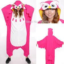 onesie unisex pajamas animal costume owl