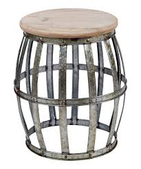 another great find on zulily galvanized metal accent table by