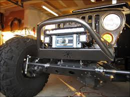 Jeep Wrangler Led Light Bar by Kansas Fs 17