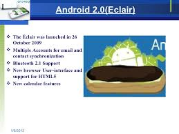 android eclair android presentation
