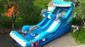 giant inflatable water slide u0026 giant inflatable slip n slide party