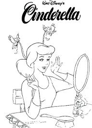 coloring pages cinderellas carriage kids cinderella prince
