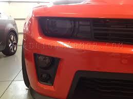 Camaro Fog Lights 13 15 Chevrolet Camaro Zl1 Upper Fog Light Protection Film Kit