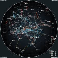 Radius Maps 50ly Xy Planar Star Map Ii By Wmediaindustries Deviantart Com On