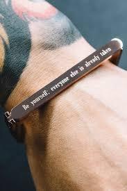 Custom Engraved Jewelry Best 25 Engraved Bracelet Ideas On Pinterest Initial Bracelet