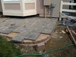 Patio Pavers Installation How To Install A Paver Patio Installing A Paver Patio
