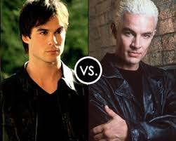 vire diaries damon vs buffy the vire slayer s spike in bad