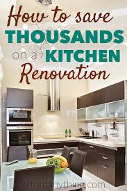 How To Kitchen Design The Cheapskate U0027s Guide To Kitchen Renovations Rental Income