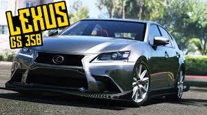 lexus gs safety rating lexus gs 350 tuning test drive u0026 crash test 37 gta 5 youtube