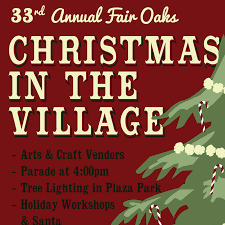 fair oaks christmas in the village page home facebook