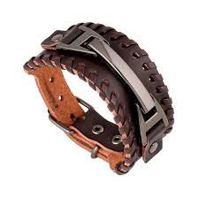 luxury leather bracelet images Luxorian leather bracelet onyx bunny jpg