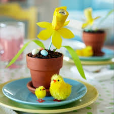 Easter Paper Table Decorations by 100 Ideas For Original Easter Decoration Interior Design Ideas