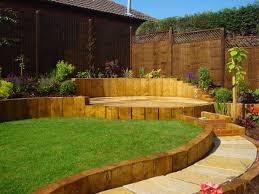 sloped garden landscaping cori u0026matt garden