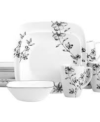 Corelle Dish Sets I Really Like Corelle Dishes And This Teal Grey With Touches Of