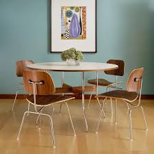 Molded Dining Chairs Eames Molded Plywood Dining Chair Metal Base By Herman Miller