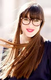 hairstyles for long straight hair with glasses изображение со страницы http cdn bolshoyvopros ru files users