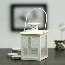 white lanterns for wedding centerpieces glass candle holders for wedding home decoration crystal wedding