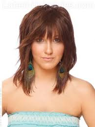 shoulder length hair with layers at bottom love love love the fullness on top and the bulk cut out of the