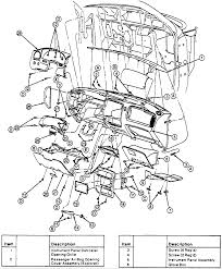 Ford Explorer Dashboard - 1995 ford explorer procedure to remove the dashboard