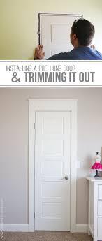 Interior Door Hanging How To Hang Louvered Interior Doors Creative Home Decoration