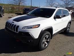jeep trailhawk 2014 2014 bright white jeep cherokee trailhawk 4x4 87864813 photo 2