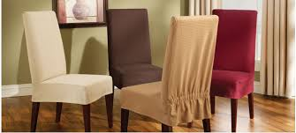 Simple Chair Covers For Dining Room Chairs Breathtaking  Full - Covers for dining room chairs