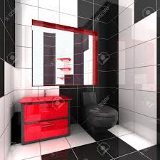 red white and black bathroom ideas thesouvlakihouse com