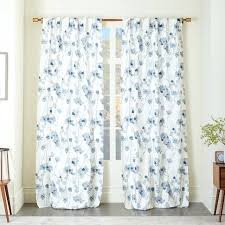 Blue And White Floral Curtains Navy Blue Floral Shower Curtain Nonsensical Morin Garden