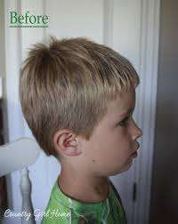 three year old haircuts country girl home how to cut your boys hair at home for free