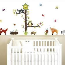 stickers repositionnables chambre bébé stickers repositionnables chambre bebe sticker forrest animals 50 cm