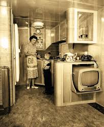 Interior Of Mobile Homes by Interior Of A Schult Mobile Home Trailer 1950 Oldschoolcool