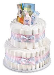 diper cake how to make a cake for a baby shower