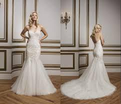 alabaster silver wedding dresses mermaid kr 2015 sweetheart